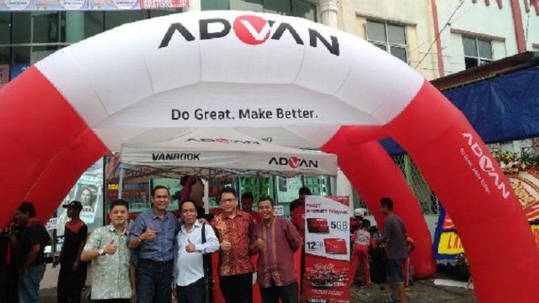 Advan & Top Ponsel Hadirkan Experience Shop dengan Konsep Market Street