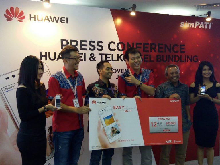 Sasar Konsumen Kelas Menengah, Huawei Pasarkan Y3 II LTE dan Y6 II LTE