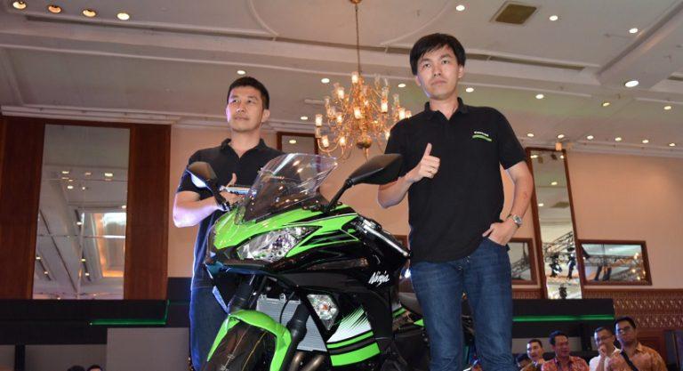 Gebrak Indonesia Motor Show (IMOS) 2016, Kawasaki Perkenalkan All New Ninja 650