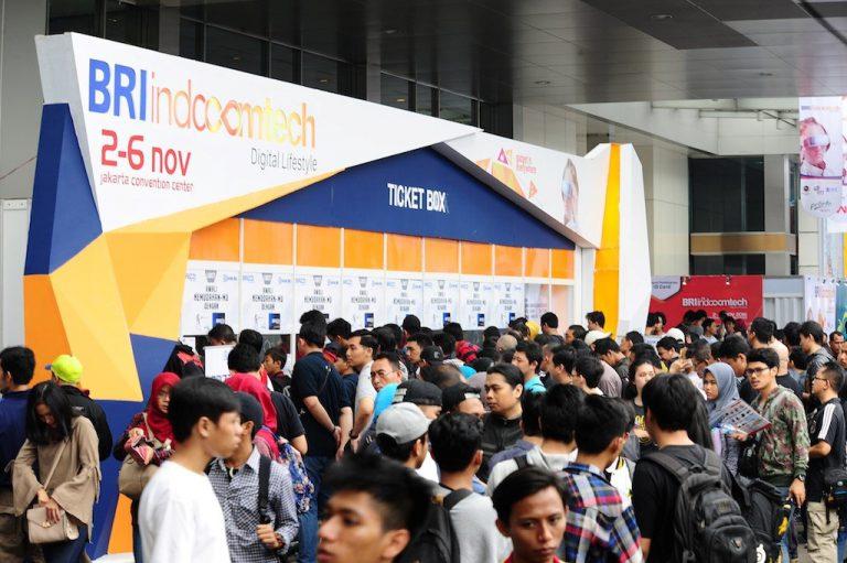 Di Hari Terakhir, Indocomtech 2016 Dibanjiri Ratusan Pengunjung