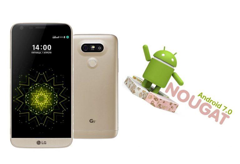 Di Negara Asalnya, LG G5 Mulai Dapat Android 7.0 Nougat