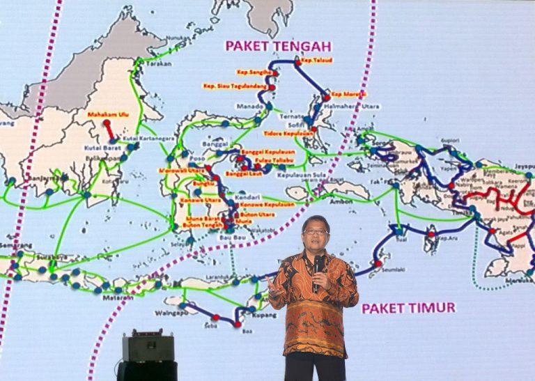 Kelar 2019, Pemerintah Ingin Palapa Ring Ciptakan Pemerataan Akses Broadband di Indonesia