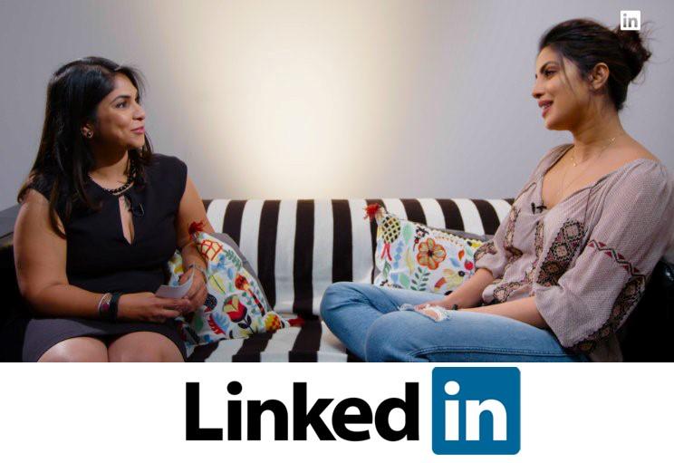 Priyanka Chopra Didaulat Menjadi Linkedin Influencer