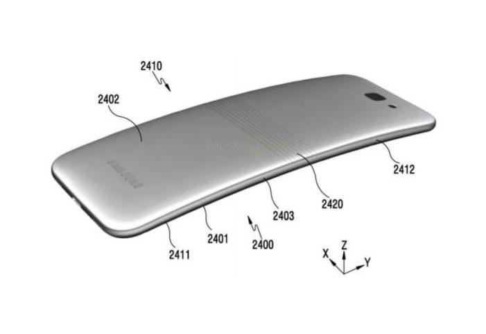 Beredar, Paten Samsung untuk Foldable Smartphone