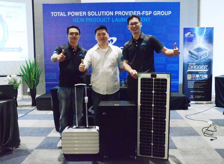 FSP Luncurkan Power Supply FSP BattMate Berpanel Surya untuk Indonesia