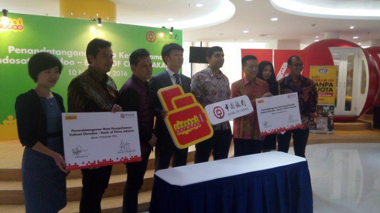 Kerjasama Indosat Ooredoo dan Bank of China, Tawarkan Banyak Benefit Lewat Dompetku