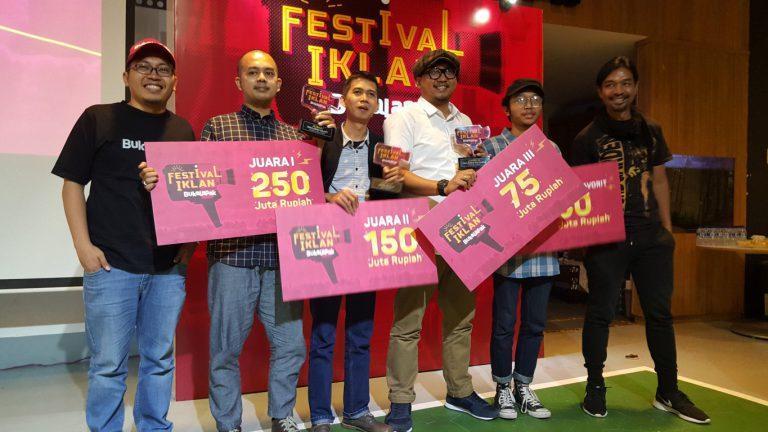 """""""Pahlawan Sejati"""" Terpilih Sebagai Juara Pertama Festival Iklan Bukalapak"""