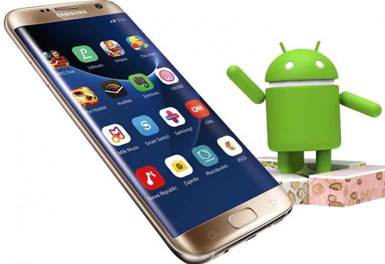 """Update Android 7.0 untuk Galaxy S7 dan S7 Edge Bawa """"Blue Light Filter"""" Sebagai Fitur Baru"""