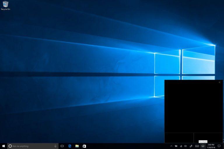 Kendali Kursor di Tablet Jadi Lebih Mudah Berkat Fitur Baru Virtual Trackpad di Windows 10 build 14965