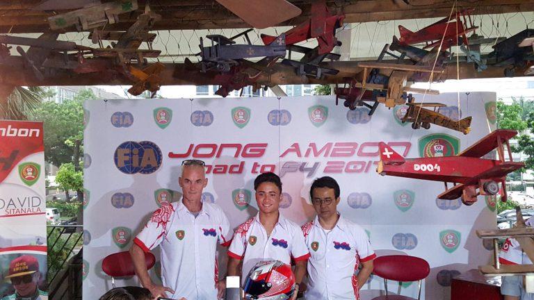 Jong Ambon David Sitanala Akan Berlaga di Formula 4 China