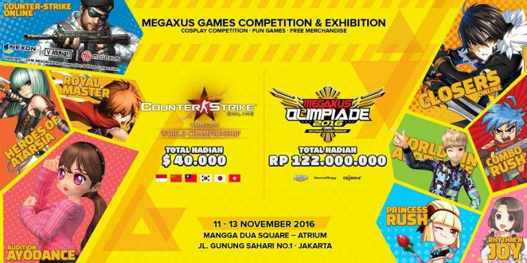 Megaxus Olimpiade Kembali Digelar, Bawa Kejutan Bagi Pecinta Game Mobile