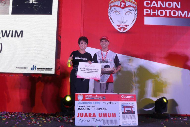 Areza Taqwim Jadi Juara Umum di Canon PhotoMarathon Indonesia 2016 Jakarta