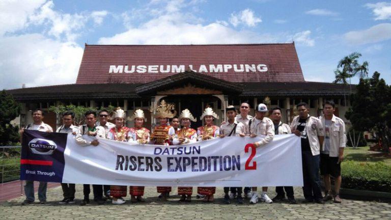 Sambangi Lampung, Datsun Risers Expedition (DRE) 2 Berjalan Sukses