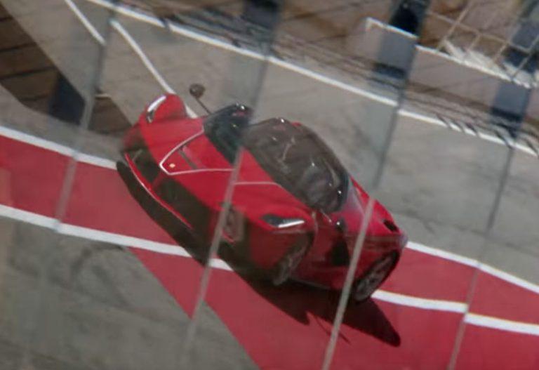 Begini Saat Sebastian Vettel Menjajal LaFerrari Aperta