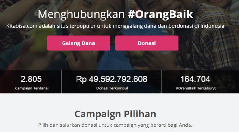 Netizen Galang Dana di Kitabisa.com untuk Korban Bom Samarinda