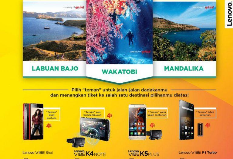 Program Jalan-Jalan Mendadak Bersama Lenovo Turut Bantu Industri Pariwisata Indonesia