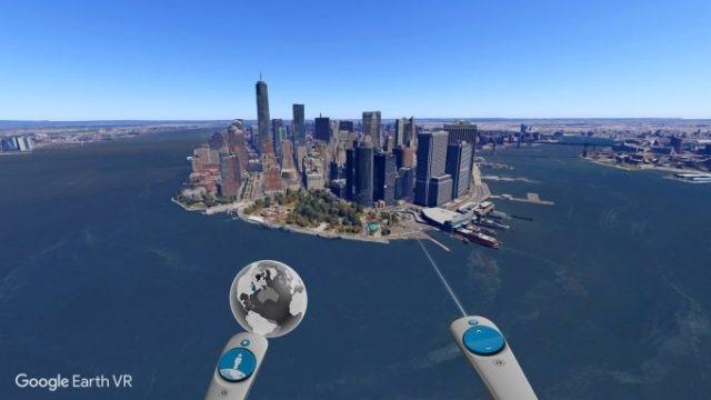 Google Rilis Earth VR untuk HTC Vive