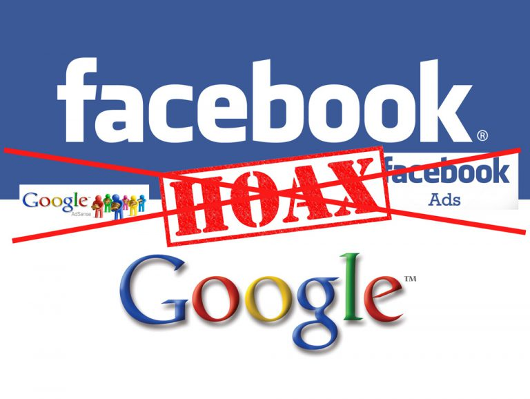 Resmi Sudah, Google dan Facebook Blokir Iklannya Tayang di Konten Penebar Hoax