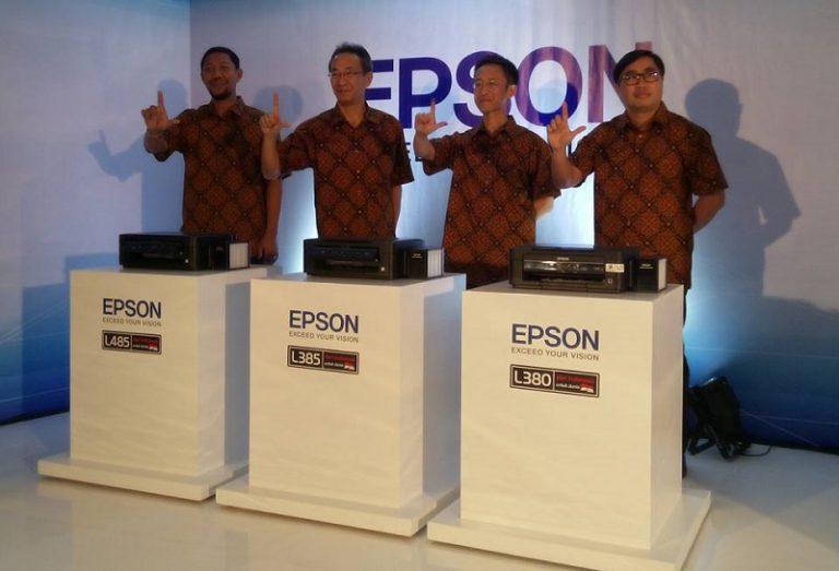 Terus Sasar Home Office atau UKM, Epson Telurkan Tiga Printer L Series Baru