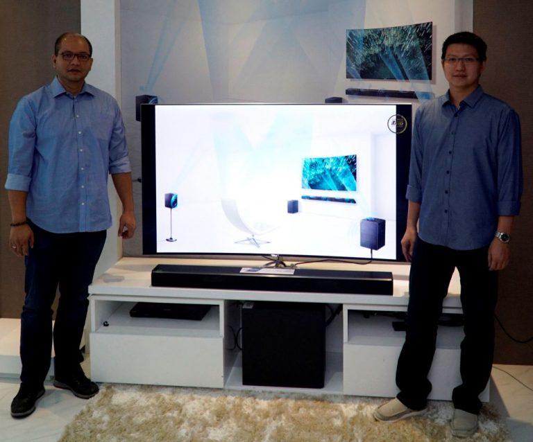 Samsung Soundbar HW-K950: Hadirkan Suara Menggelegar Dolby Atmos Tanpa Kerumitan Instalasi Kabel