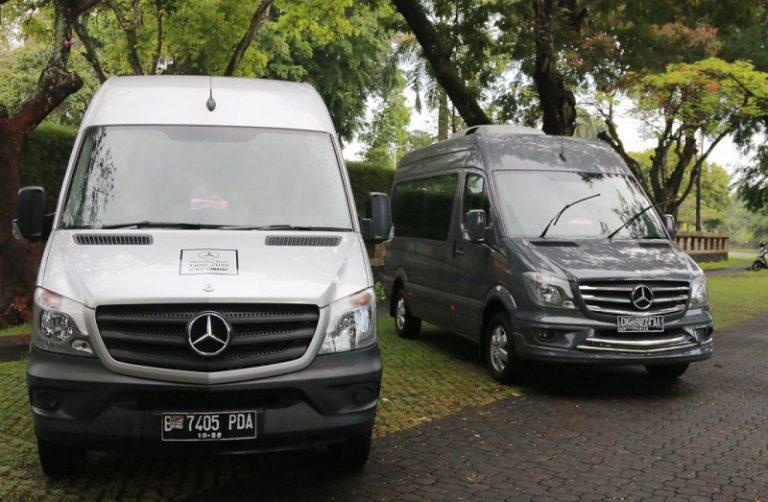 Mercedes-Benz Indonesia Uji Performa Sprinter dan V-Class di Pulau Dewata