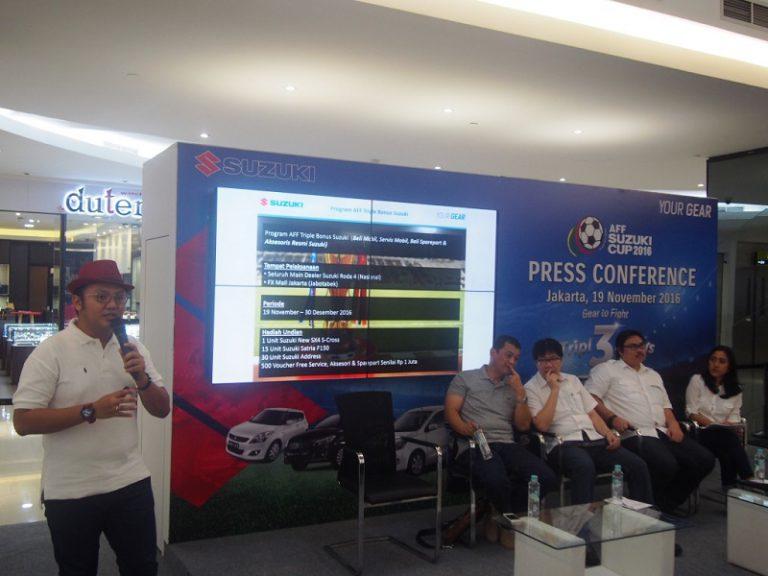 Ramaikan AFF Suzuki Cup 2016, Suzuki Manjakan Pecinta Sepak Bola Tanah Air