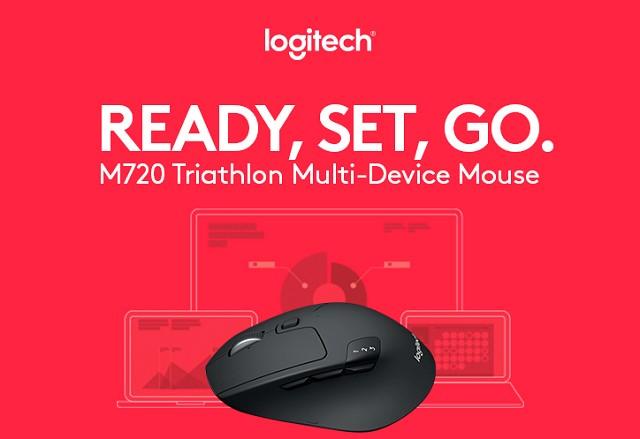 Sempat Hadir di IFA, Logitech M720 Triathlon Multi-Device Kini Sudah Ada di Indonesia