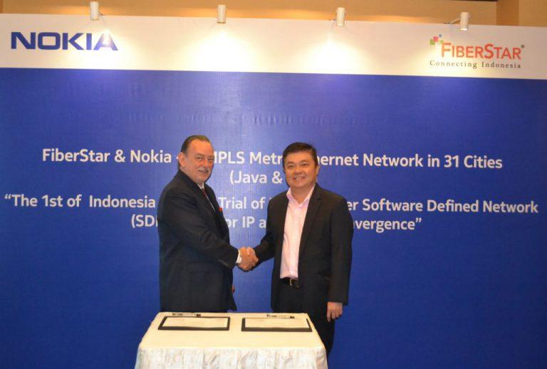 Nokia Mentransformasi Jaringan Fiberstar di Indonesia agar Siap Hadirkan Jaringan Canggih