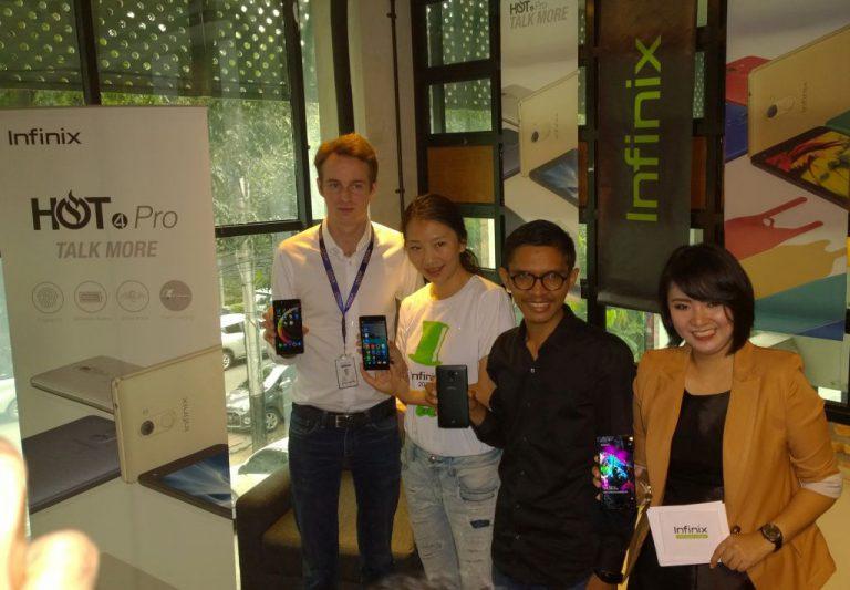 Masih Terjangkau, Infinix Hadirkan Hot 4 dan Hot Pro 4