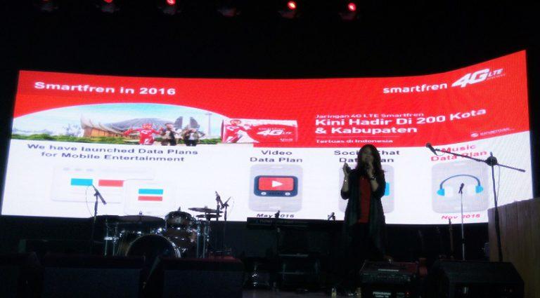 Smartfren Ramaikan Musik Streaming, Hadirkan Paket Internet Music Unlimited
