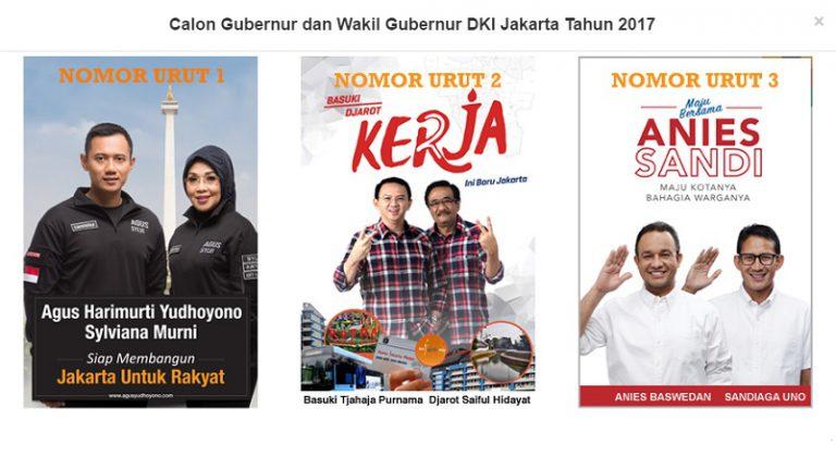 Cari Tahu, Apakah Anda Sudah Terdaftar Sebagai Pemilih dalam Pilgub DKI Jakarta 2017?
