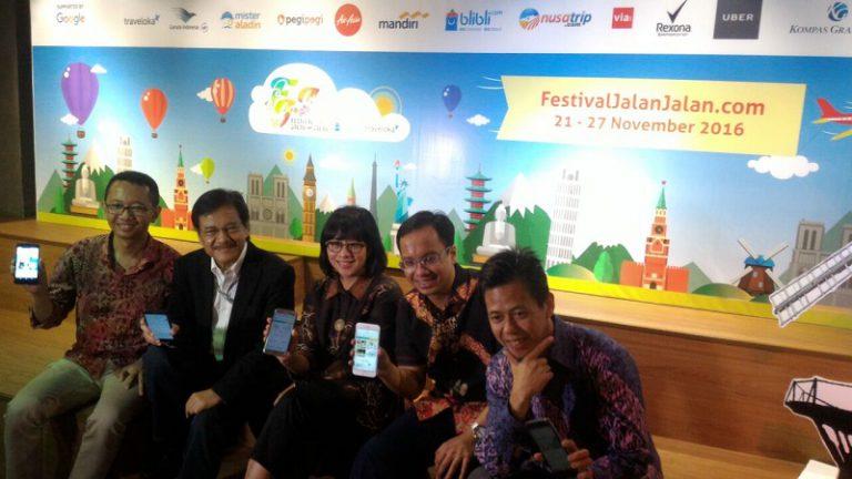 Dukung Festival Jalan-Jalan 2016, Ini yang Ditawarkan Blibli.com