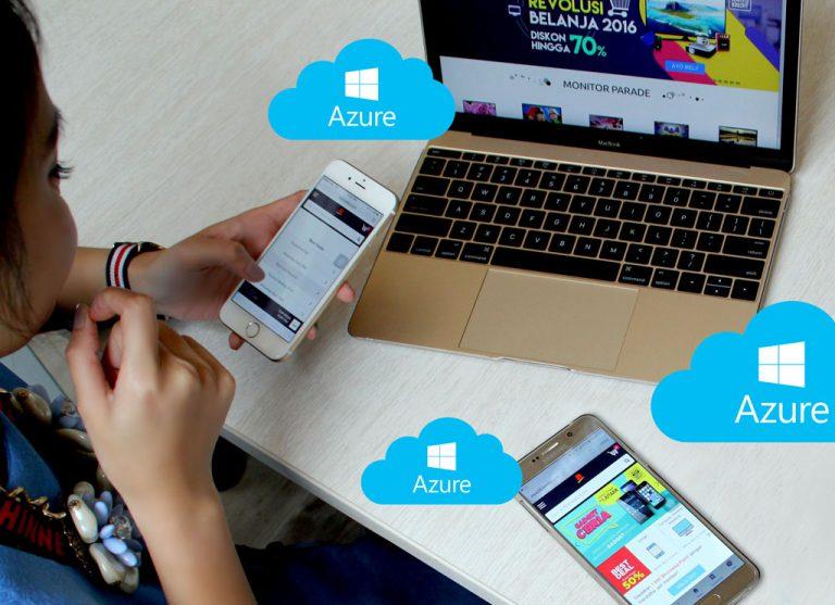 Komputasi Awan Microsoft Azure Tumbuh Tiga Digit di Asia Pasifik