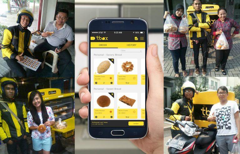 Tbox: Startup Ini Bukan Sekadar Layanan Pesan Antar Roti Online Biasa
