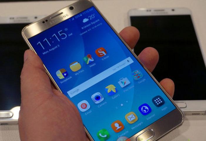 Di Korea Selatan, Software Samsung Galaxy Note 7 Digunakan untuk Galaxy Note 5