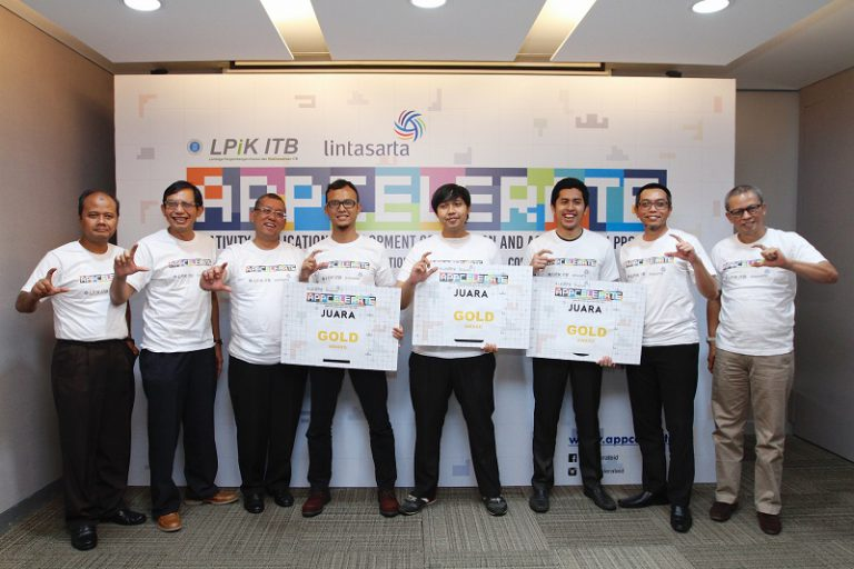 Lintasarta Umumkan Tiga Startup Terbaik di Ajang Lintasarta Appcelerete