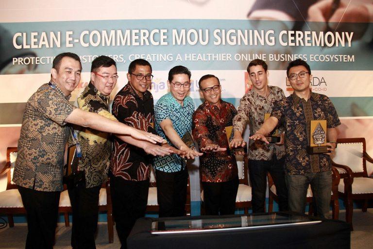 Lima e-Commerce Indonesia Jalin Kerjasama, Tangkal MasuknyaBarang Ilegal