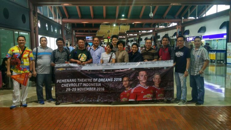 Pemenang Chevrolet Theatre of Dreams Terbang ke Manchester