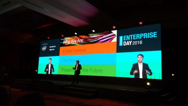 Lenovo Unjuk Kekuatan Produk Komersil dan Enterprise di Ajang Lenovo Enterprise Day 2016