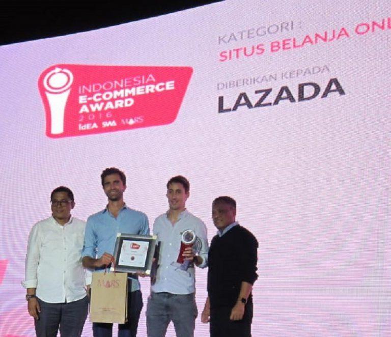 Indonesia E-Commerce Award: E-Commerce Terbaik Pilihan Konsumen Jatuh Ke Tangan Lazada