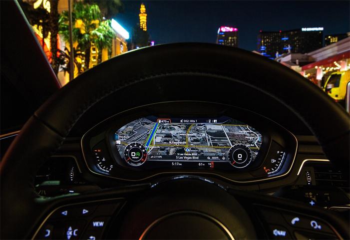 Audi V2I Bisa Deteksi Lampu Lalu-Lintas Realtime, Akan Diluncurkan di Las Vegas