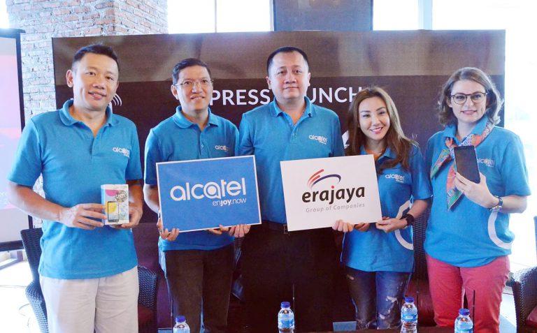 Gandeng Erajaya, Alcatel Masih Optimis dengan Pasar Feature Phone