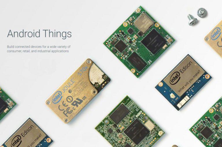 Ini Unggulnya Google Android Things dari Platform IoT Lainnya!