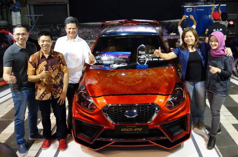 Tomi Airbrush dari Jakarta Sabet Gelar Ultimate Champion Datsun Xplore Your Style 2016