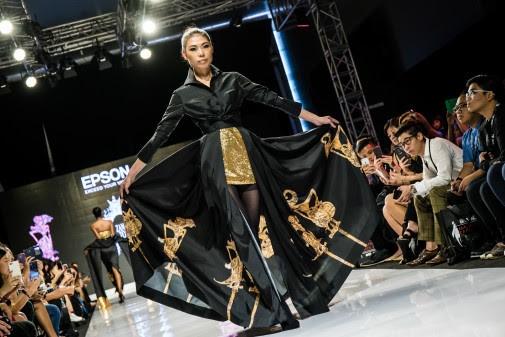 Kolaborasi Epson dan Desainer Zang Toi Hasilkan Produk Fashion Inovatif