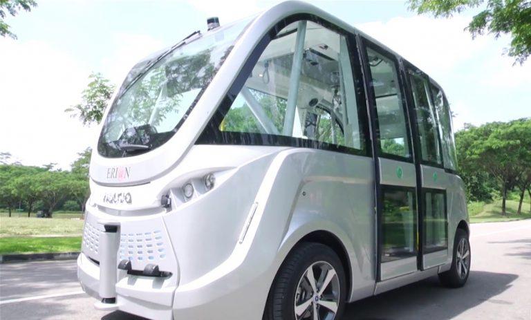 Tahun 2017, Singapura Terapkan Bus Otonom di Sebuah Universitas