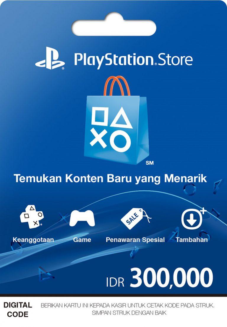Kartu Prabayar PlayStation Network Kini Tersedia di 7-Eleven dan Alfamart