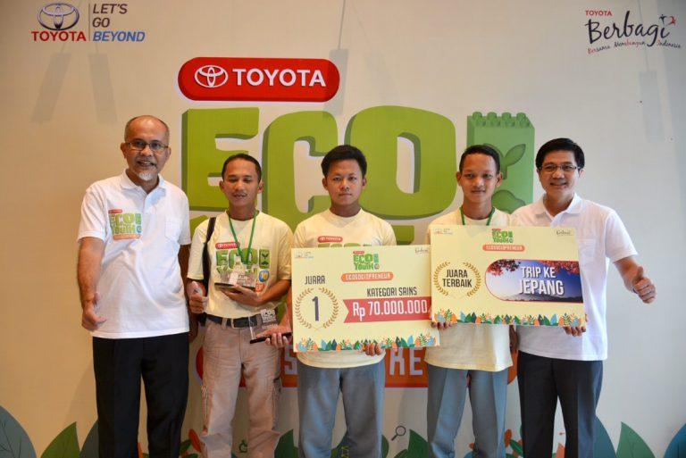 SMK PGRI Karawang Terpilih Menjadi Best of The Best Toyota Eco Youth