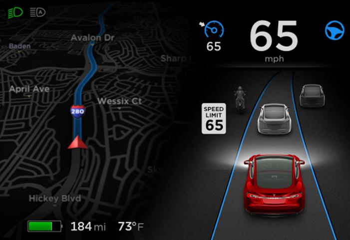 Mode Autopilot Terbaru di Tesla akan Ikuti Batas Kecepatan di Jalan Raya
