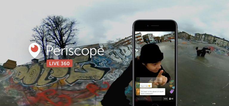 Tak Lama Lagi Fitur Video Streaming 360 Hadir di Twitter dan Periscope